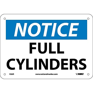 Notice, Full Cylinders, 7