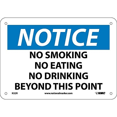 Notice, No Smoking No Eating No Drinking Beyond This Point, 7