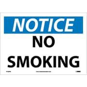 Notice, No Smoking, 10X14, Adhesive Vinyl