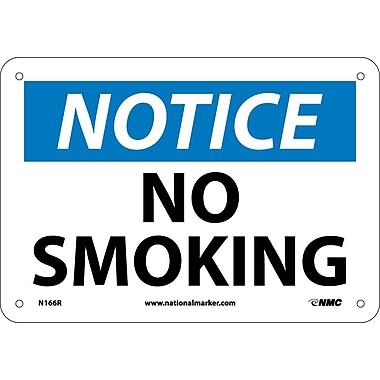 Notice, No Smoking, 7