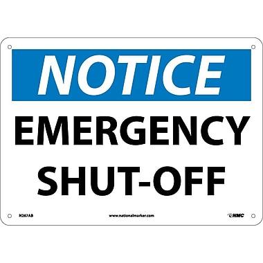 Notice, Emergency Shut-Off, 10