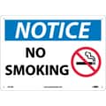 Notice, No Smoking, Graphic, 10X14, Rigid Plastic