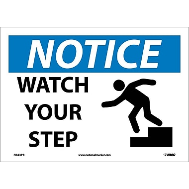 Notice, Watch Your Step, Graphic, 10