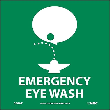 Emergency Eye Wash Graphic, 4