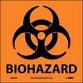 Biohazard (Graphic), 4X4, Adhesive Vinyl, Labels sold in 5/Pk