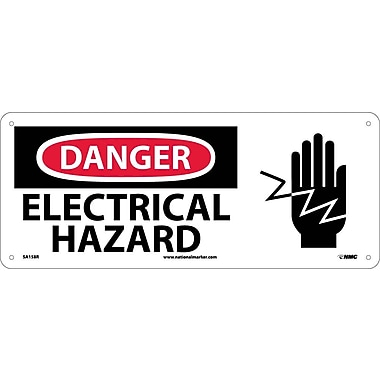 Danger, Electrical Hazard with Graphic, 7