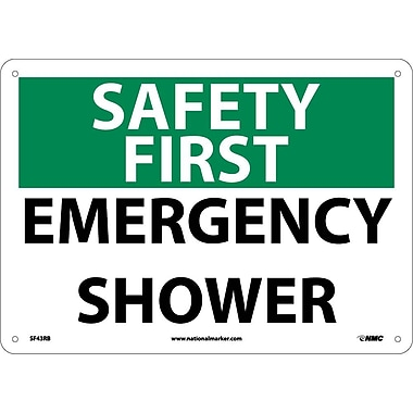 Safety First, Emergency Shower, 10
