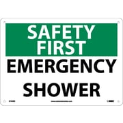 Safety First, Emergency Shower, 10X14, Rigid Plastic