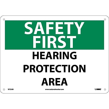 Safety First, Hearing Protection Area, 10