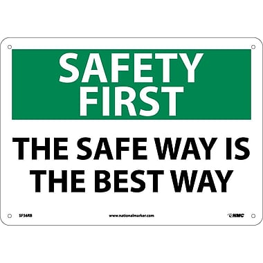 Safety First, The Safe Way Is The Best Way, 10