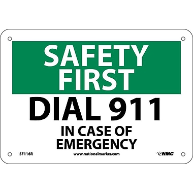 Safety First, Dial 911, 7