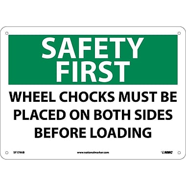 Safety First, Wheel Chocks Must Be Placed On Both Sides Before Loading, 10