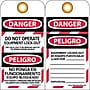 Lockout Tags, Danger, Do Not Operate Equipment Lock