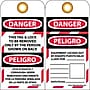 Lockout Tags, Lockout, Danger This Tag & Lock