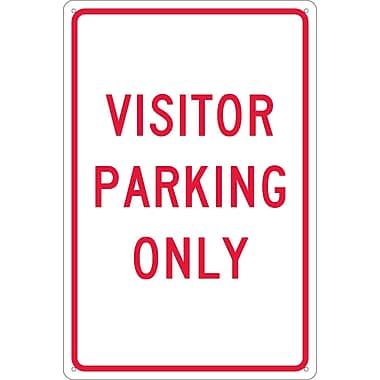Visitor Parking Only, 18