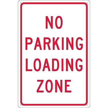 No Parking Loading Zone, 18