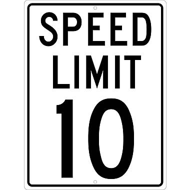Speed Limit 10, 24X18, .080 Hip Ref Aluminum