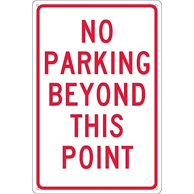 No Parking Beyond This Point, 18