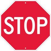 Stop, 18 X 18, Rigid Plastic