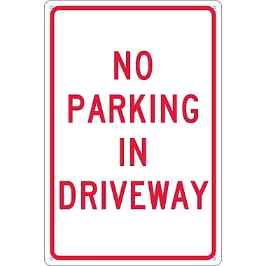 No Parking In Driveway, 18