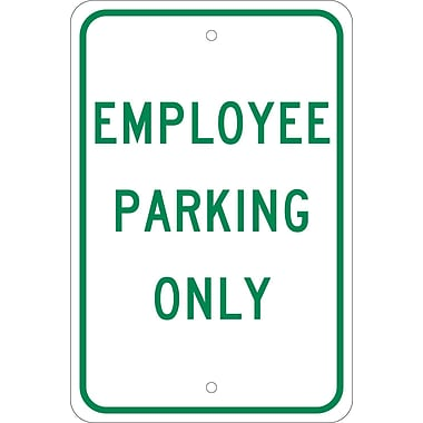 Employee Parking Only, 18