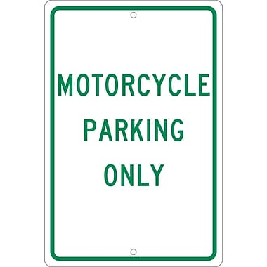 Motorcycle Parking Only, 18