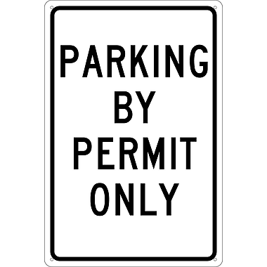 Parking By Permit Only, 18