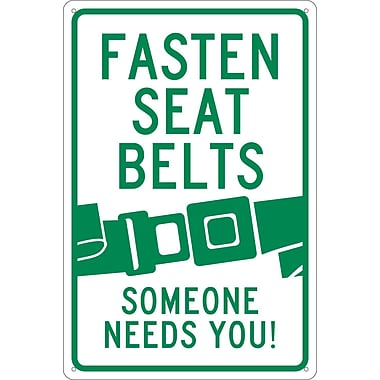 Fasten Seat Belt Graphic Someone Needs You, 18