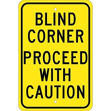 Blind Corner Proceed with Caution, 18