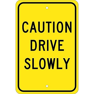 Caution Drive Slowly, 18