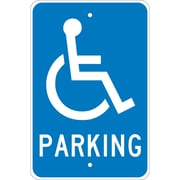 Parking (W /Handicapped Symbol), 18X12, .080 Egp Ref Aluminum
