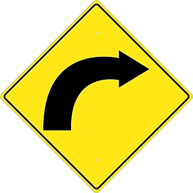 Graphic Of Right Curved Arrow, 24