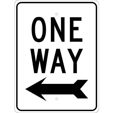 One Way Left Arrow, 24