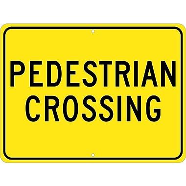 Pedestrian Crossing, 18X24, .080 Egp Ref Aluminum