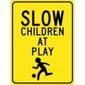 Slow Children At Play (Graphic) 24X18, .080 Egp Ref Aluminum