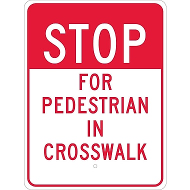 Stop for Pedestrian In Crosswalk, 24