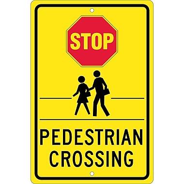 Stop Graphic Pedestrian Crossing, 18