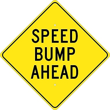 Speed Bump Ahead, 24