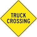 Truck Crossing, 24X24, .080 Hip Ref Aluminum