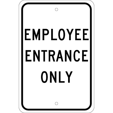 Employee Entrance Only, 18