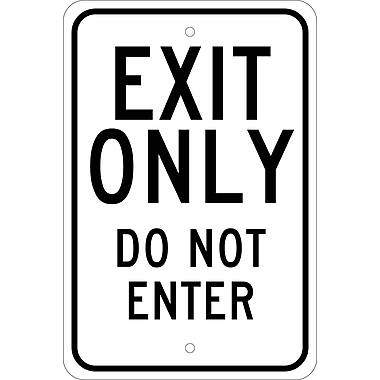 Exit Only Do Not Enter, 18