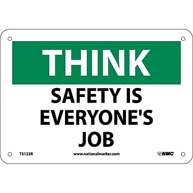 Think, Safety Is Everyone's Job, 7