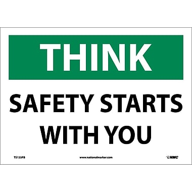 Think, Safety Starts with You, 10