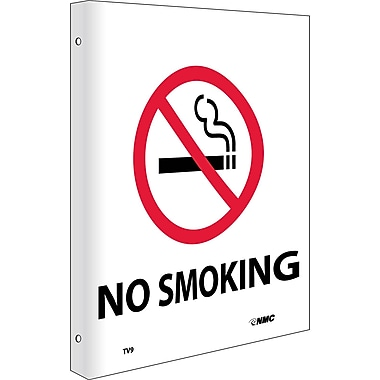 No Smoking, Flanged, 10