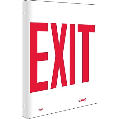 Exit, Flanged, 10