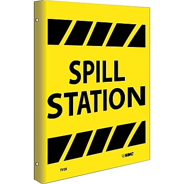 Spill Station, Flanged, 10