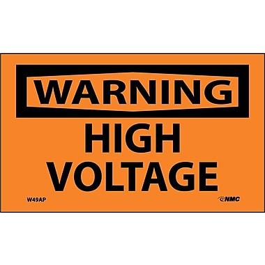 Warning, High Voltage, 3