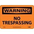 Warning, No Trespassing, 7X10, .040 Aluminum