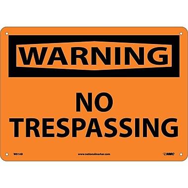 Warning, No Trespassing, 10