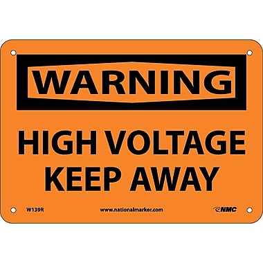Warning, High Voltage Keep Away, 7